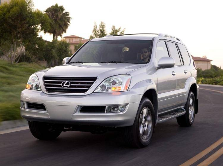 Фото Lexus GX I - схожий с Toyota Land Cruiser 70