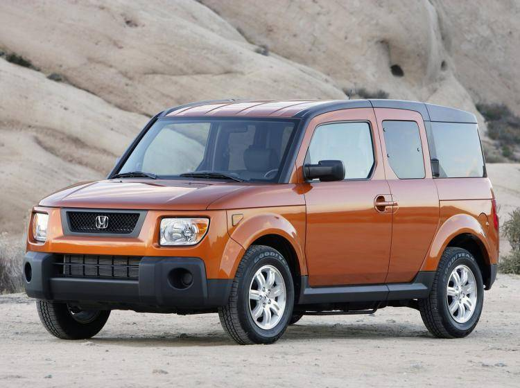Фото Honda Element I рестайлинг - схожий с Ford Escape II