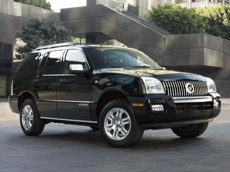 Фото Mercury Mountaineer III - конкурент Mercedes-Benz M-klasse W164