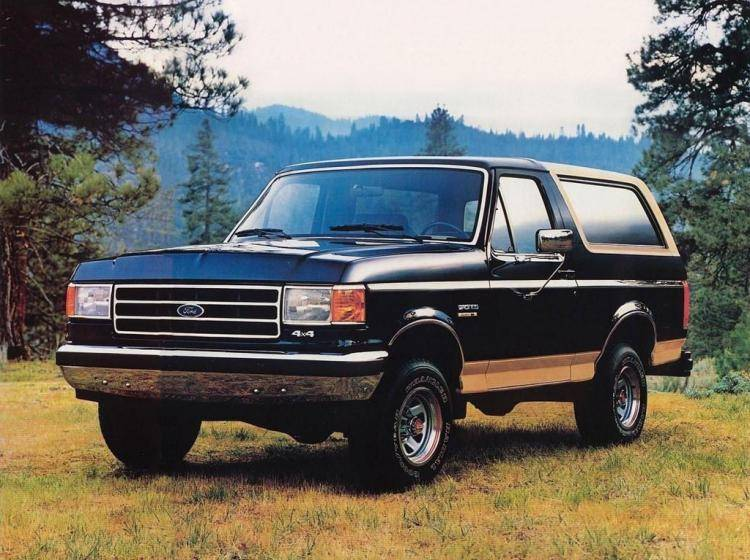 Фото Ford Bronco IV - схожий с Toyota Land Cruiser 70
