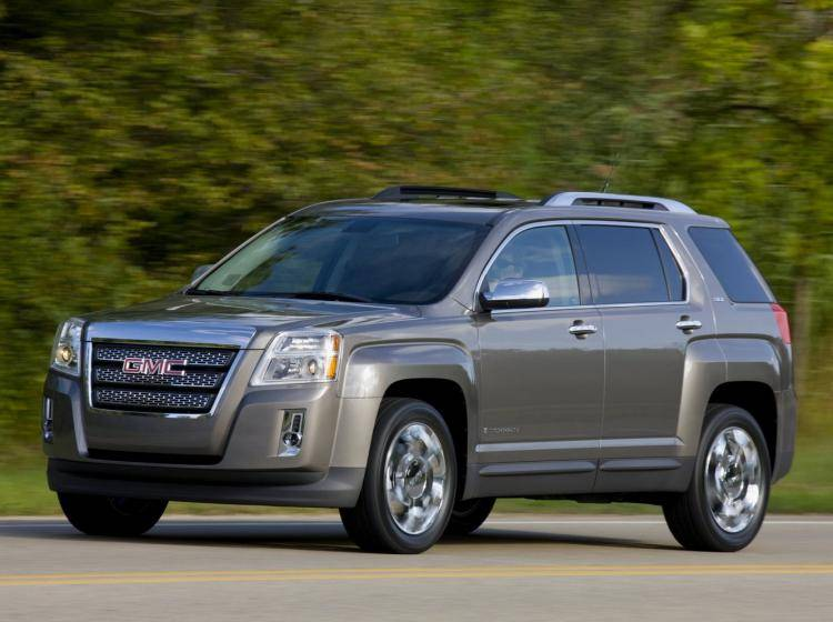 Фото GMC Terrain I - схожий с Chevrolet TrailBlazer I рестайлинг