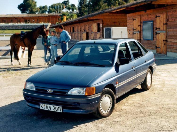 ford escort 1.3 мт 1997 отзыв