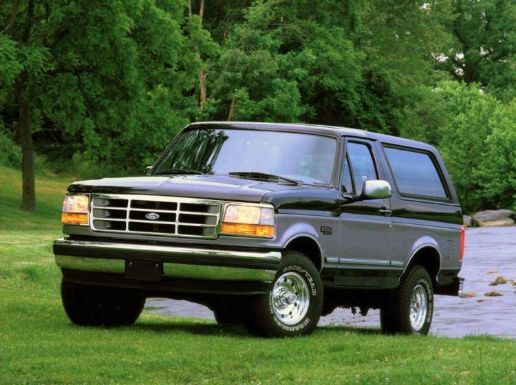 Фото Ford Bronco V - конкурент Toyota Land Cruiser 80