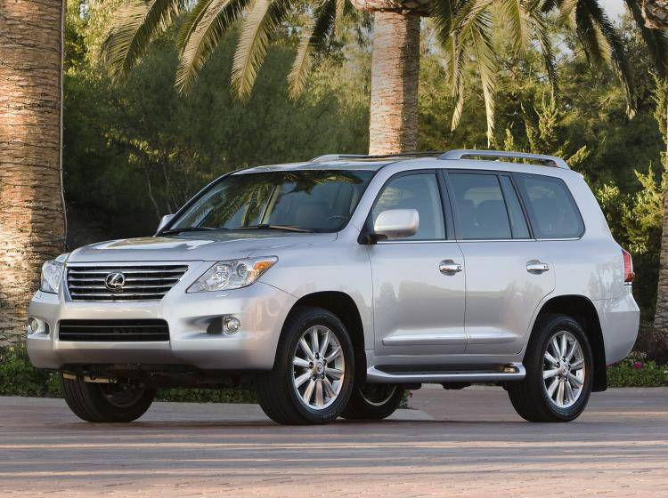 Фото Lexus LX III - схожий с Toyota Land Cruiser 70