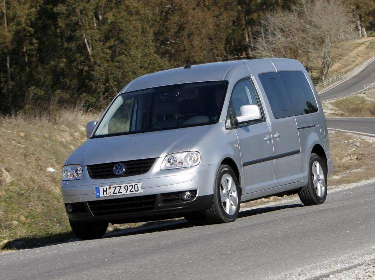 Фото Volkswagen Caddy III - конкурент Renault Espace IV