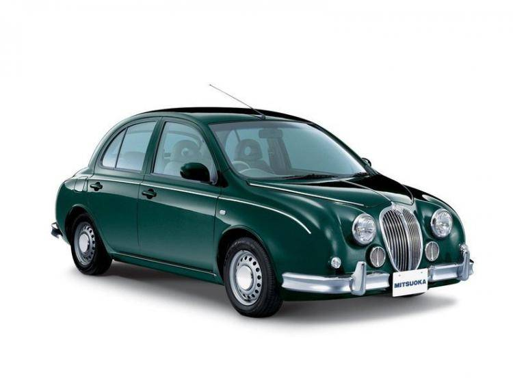 Фото Mitsuoka Viewt II (K12) - схожий с Ford Focus (North America) II