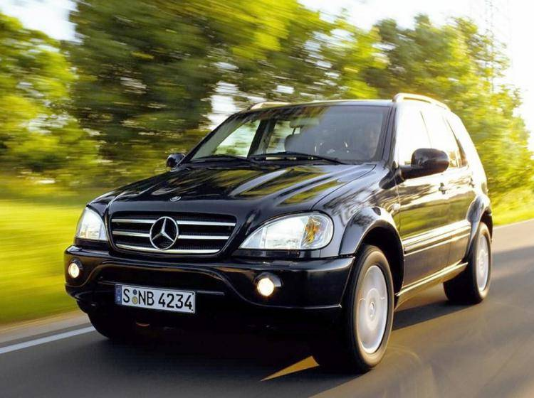 Mercedes-benz M-klasse amg W163 5.4 AT (347 л.с.) 4×4