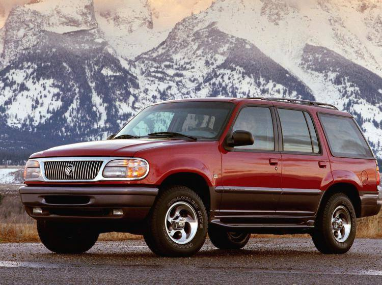 Фото Mercury Mountaineer II - конкурент Jeep Cherokee KJ рестайлинг