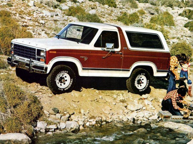 Фото Ford Bronco III - схожий с Toyota Land Cruiser 70