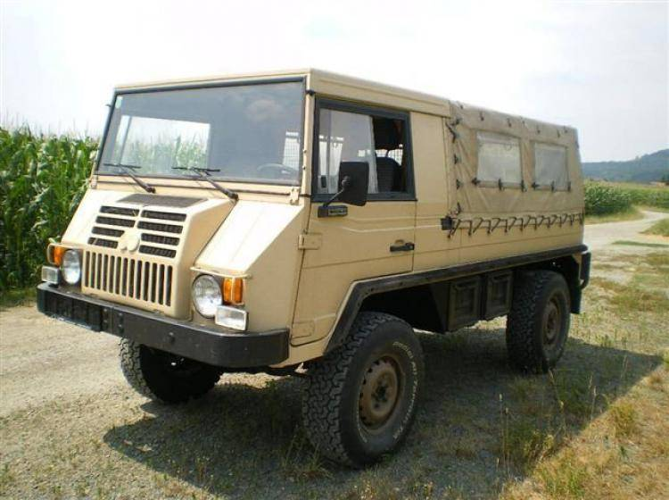 Фото PUCH Pinzgauer 716 - конкурент Toyota Land Cruiser 80