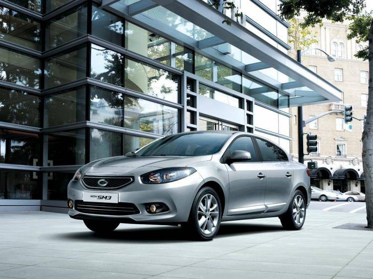 Фото Renault Samsung SM3 II - схожий с Ford Focus (North America) II