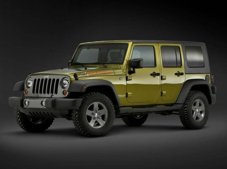 Фото Jeep Wrangler JK - конкурент Jeep Liberty KJ