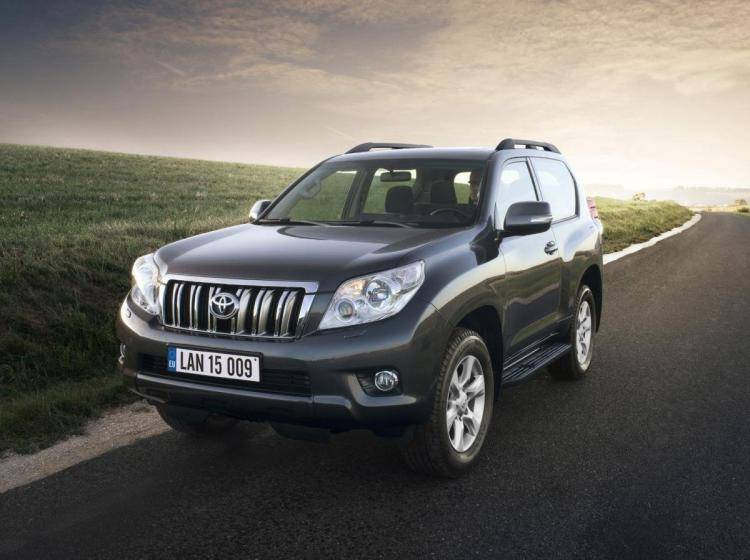 Фото Toyota Land Cruiser Prado 150 - схожий с Lincoln Navigator U326