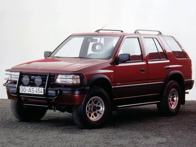 Фото Opel Frontera A - конкурент Toyota Land Cruiser 80