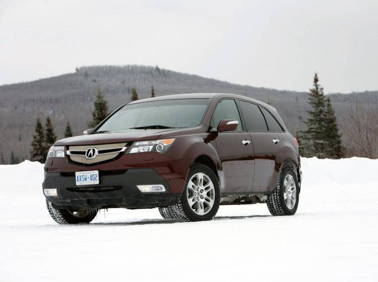 Фото Acura MDX II - схожий с Ford Escape II