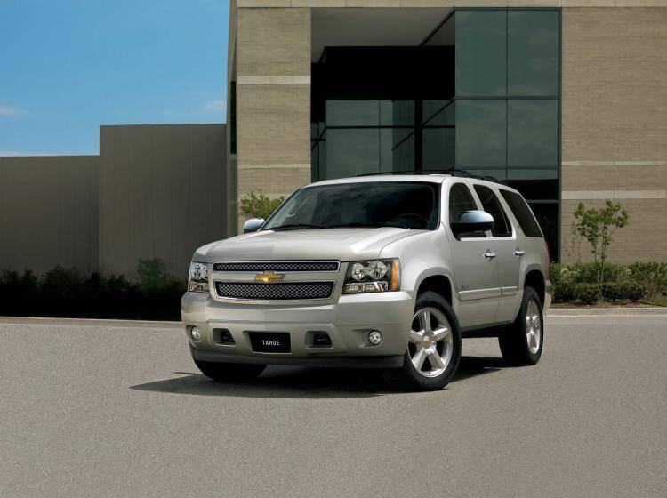 Фото Chevrolet Tahoe III - конкурент Mercury Mountaineer II