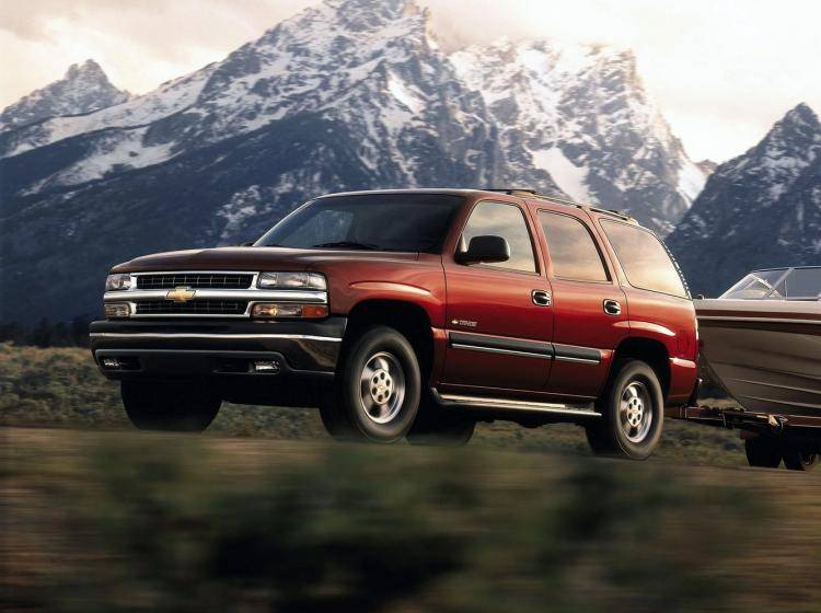 Фото Chevrolet Tahoe II - схожий с Toyota Land Cruiser 70