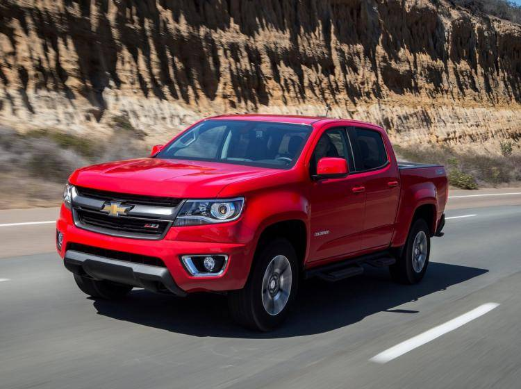 Chevrolet Colorado Ii 2.5 MT (200 л.с.) пикап Crew Cab