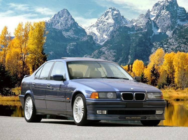 Фото Alpina B3 E36 - конкурент Honda Accord IV