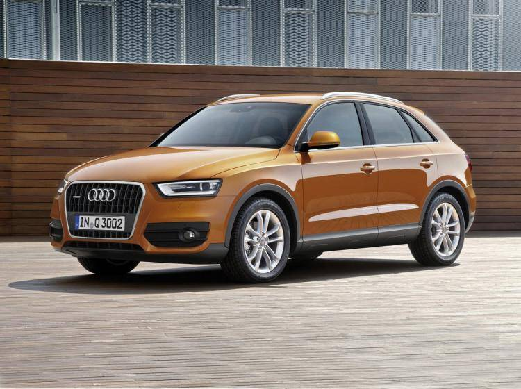Фото Audi Q3 Typ 8U - схожий с Ford Escape II
