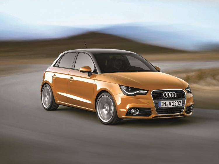 Фото Audi A1 Typ 8X - конкурент MINI Hatch R56