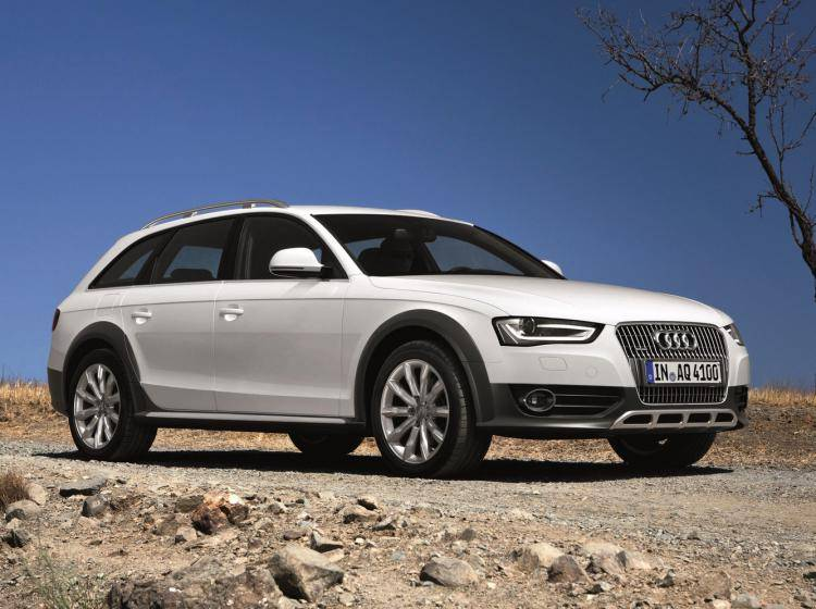 Фото Audi A4 allroad B8 рестайлинг - конкурент Skoda Superb II рестайлинг