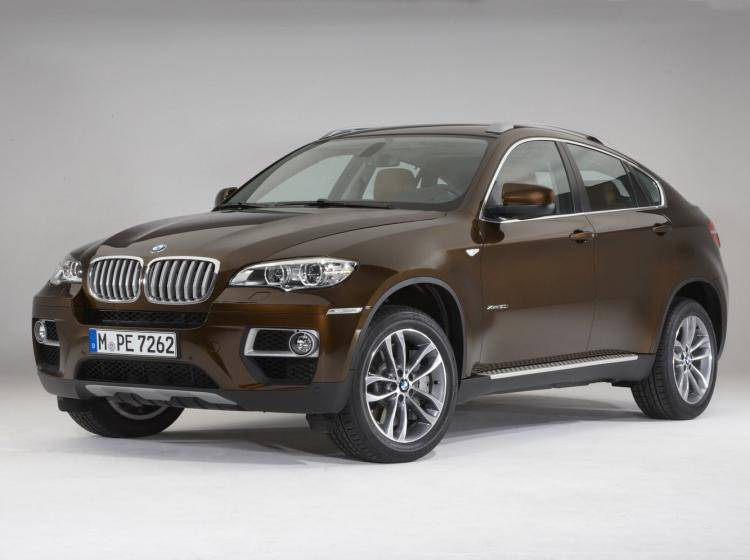 Фото BMW X6 E71 рестайлинг - схожий с Ford Escape II