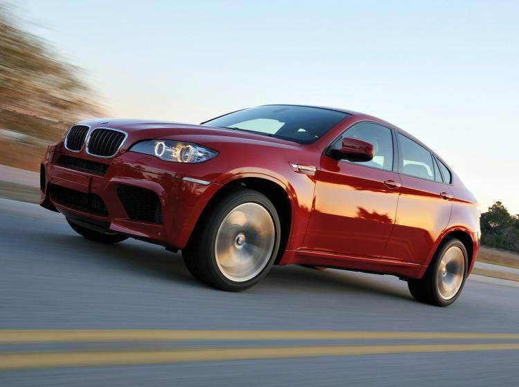 Фото BMW X6 M E71 - схожий с Ford Escape II