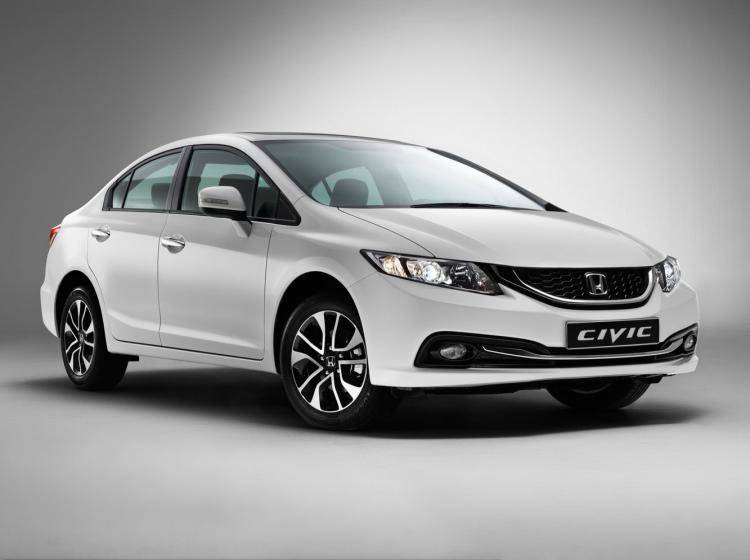 Фото Honda Civic IX рестайлинг - конкурент Geely MK I