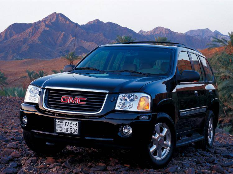 Фото GMC Envoy GMT360 - конкурент Isuzu Trooper II