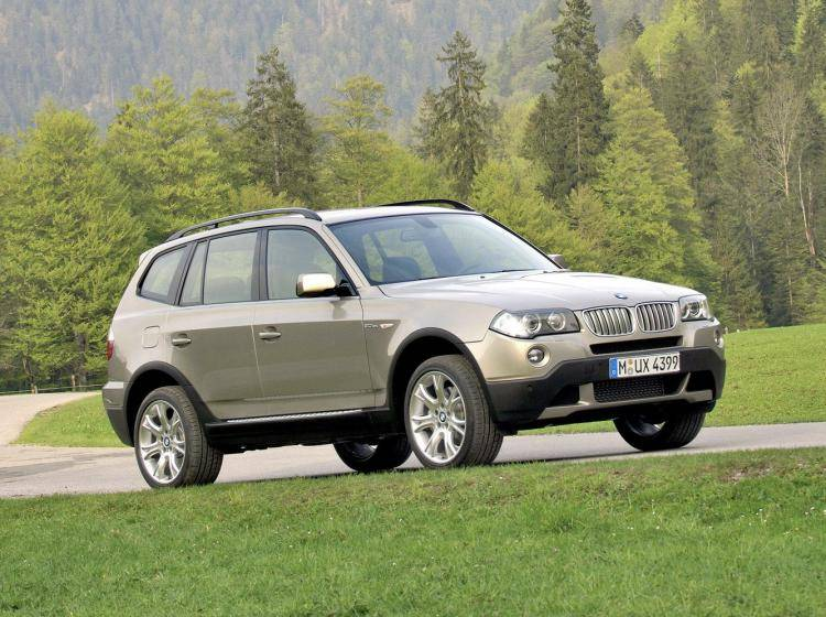 Фото BMW X3 E83 рестайлинг - схожий с Ford Escape II