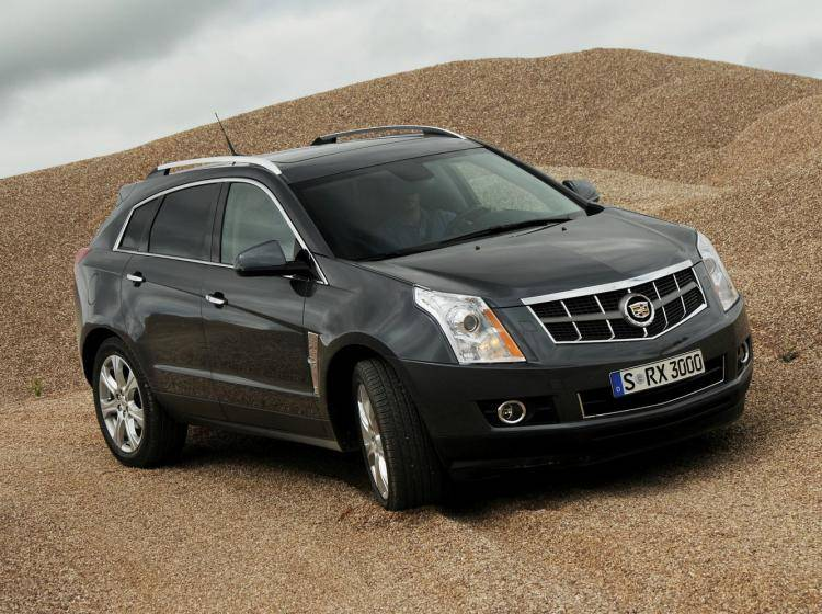 Фото Cadillac SRX II - схожий с Ford Escape II