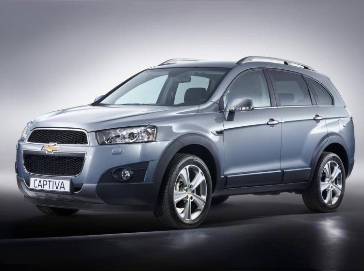 Фото Chevrolet Captiva I рестайлинг - схожий с Ford Escape II