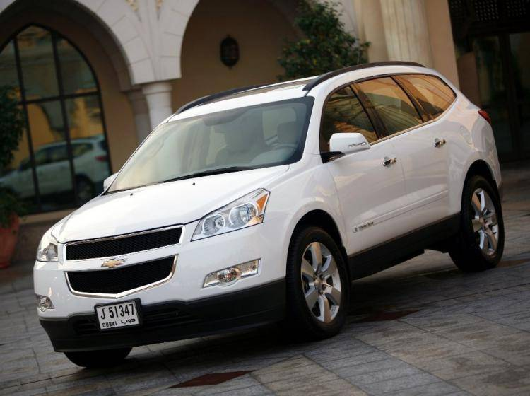 Фото Chevrolet Traverse I - схожий с Ford Escape II
